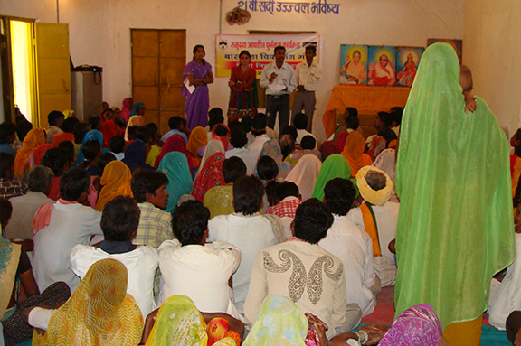 Facilitating the poor to voice their issues and concerns