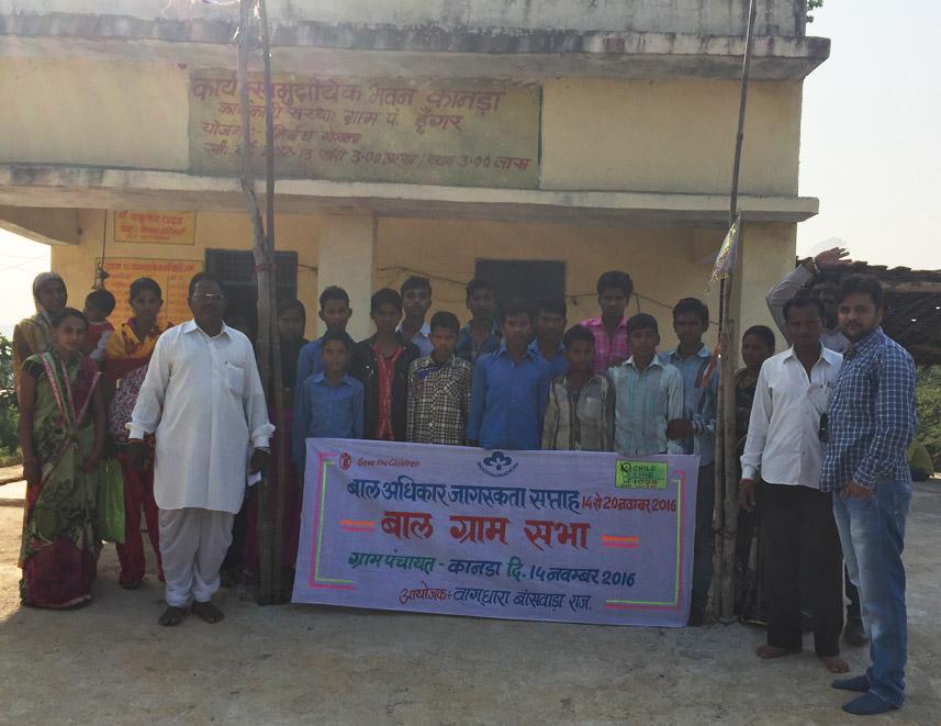 Vaagdhara organized Baal Gram Sabha