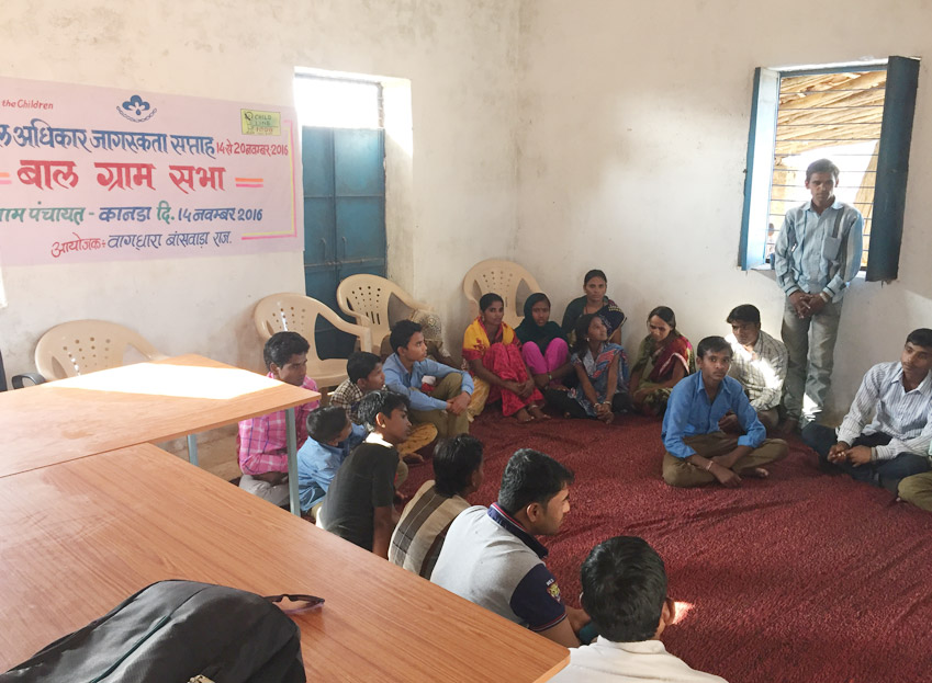 Vaagdhara organized Baal Sabha on Children's day