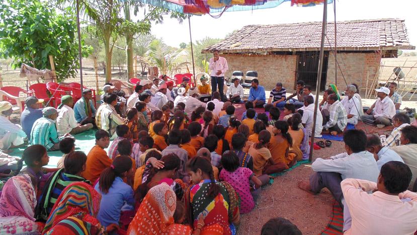 Vagad Kisan Swaraj Yatra- Foundation stone for promoting Nutrition Sensitive Farming System