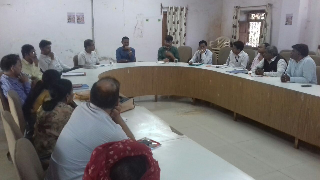 Block level child protection committee meeting