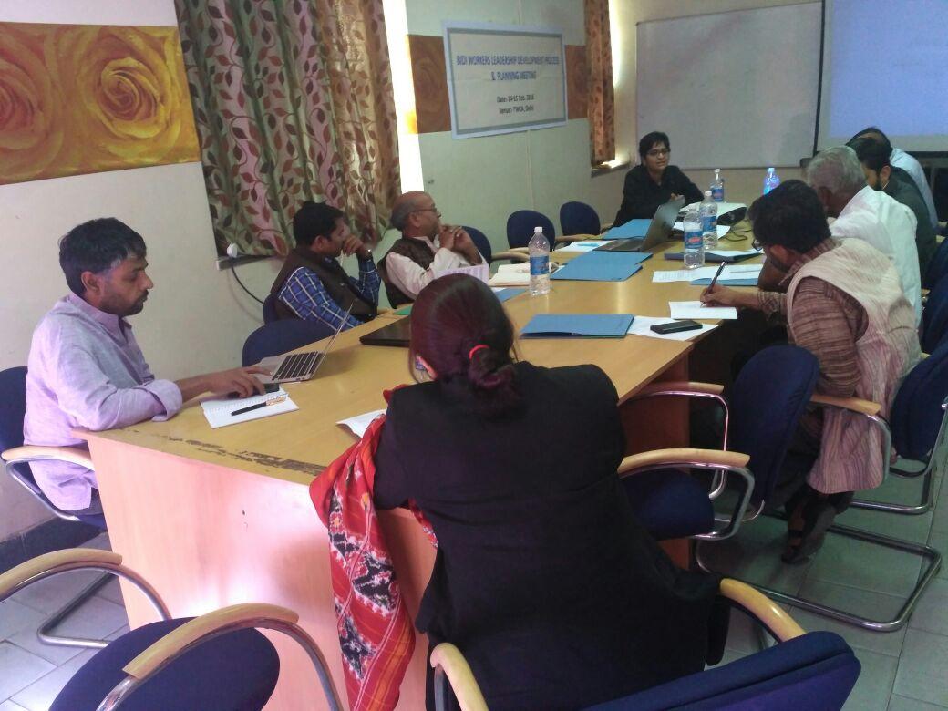 Bidi workers leadership development process and planning-1