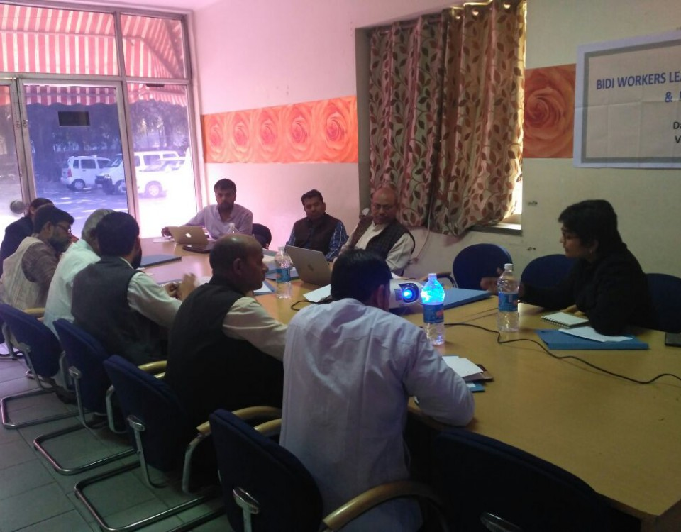 Bidi workers leadership development process and planning-2
