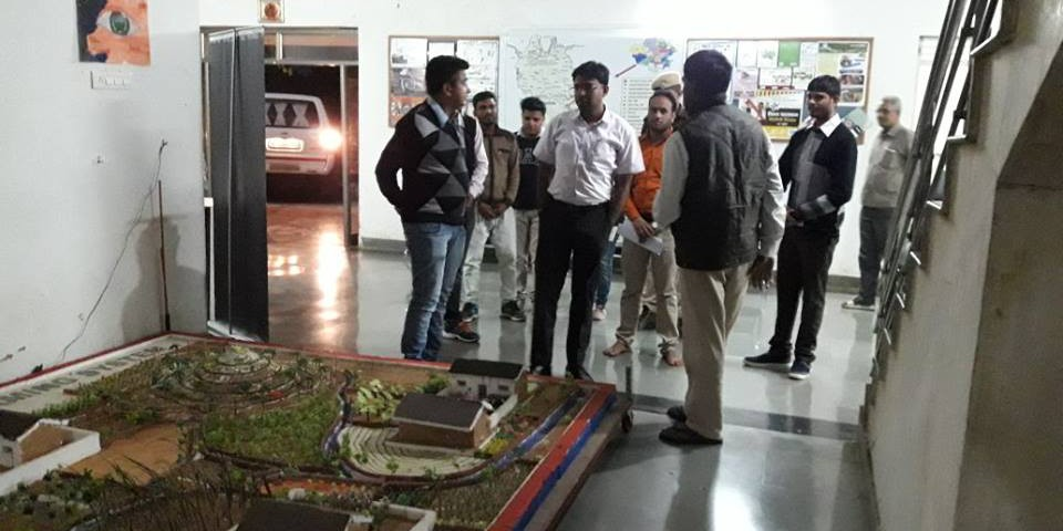 District Collector of Banswara Shri Bhagwati Prasad Ji visited Vaagdhara campus 1