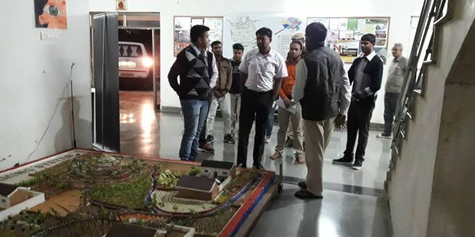 District Collector of Banswara Shri Bhagwati Prasad Ji visited Vaagdhara campus 1