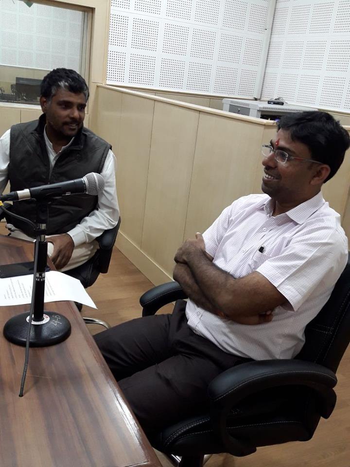 District Collector of Banswara Shri Bhagwati Prasad Ji visited Vaagdhara campus 2