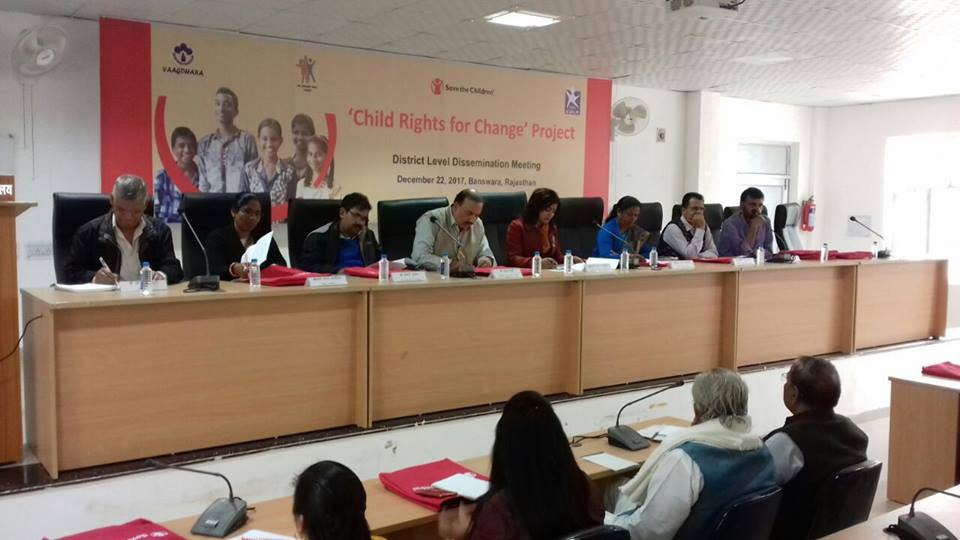 District Level Dissemination Meeting of Child Rights for Change - 1