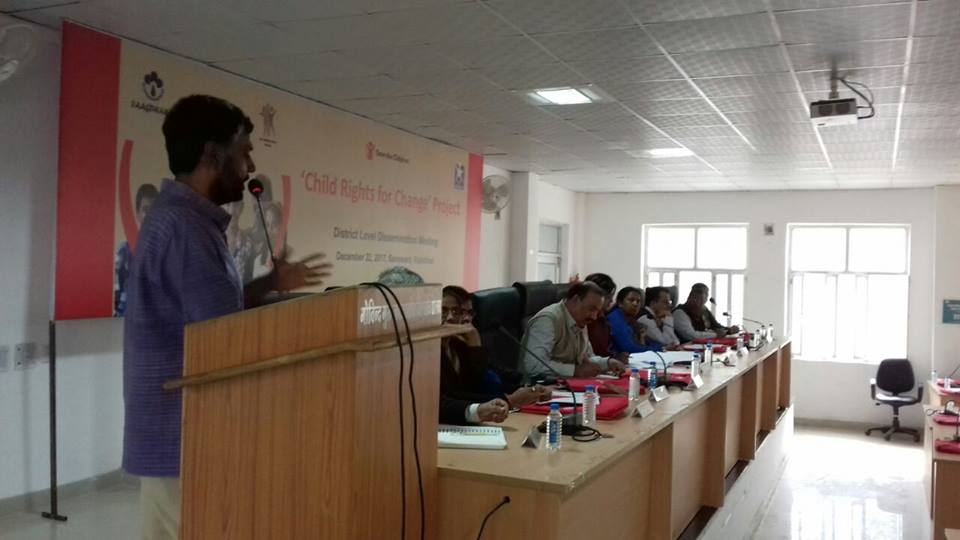 District Level Dissemination Meeting of Child Rights for Change - 3