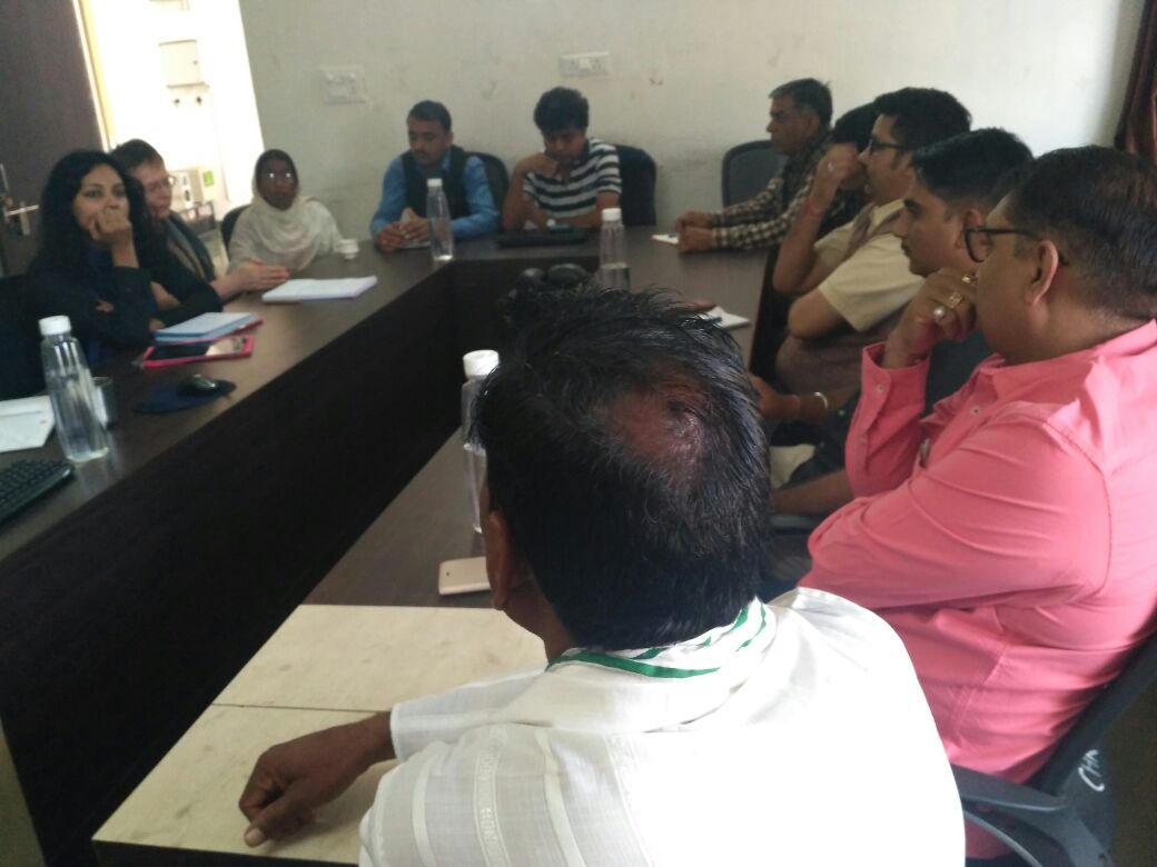 Govt officials & PRI, meeting for FHFI project - Vaagdhara
