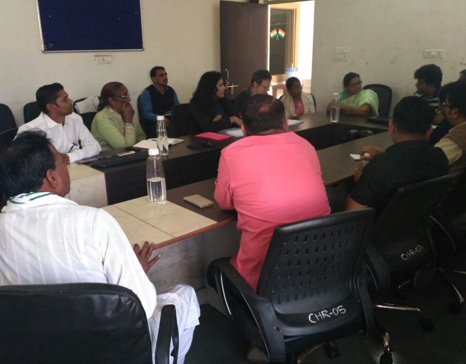 Govt officials & PRI, meeting for FHFI project-2
