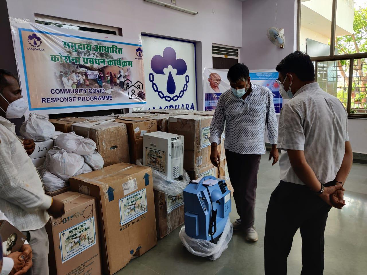 vaagdhara-donated-oxygen-concentrator-collector-banswara-1